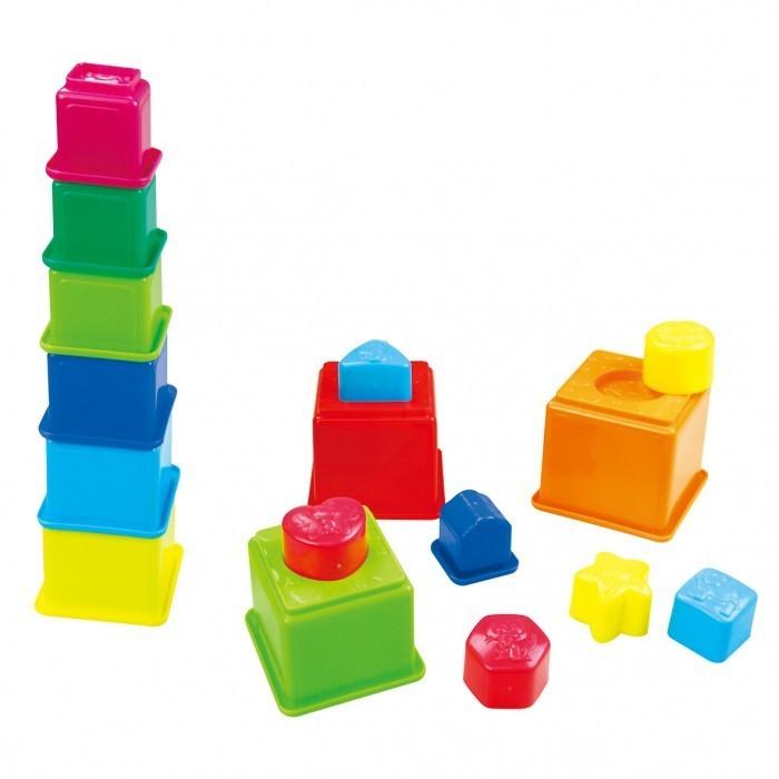 Развивающие игрушки Playgo Активный игровой центр Пирамида сортер цена