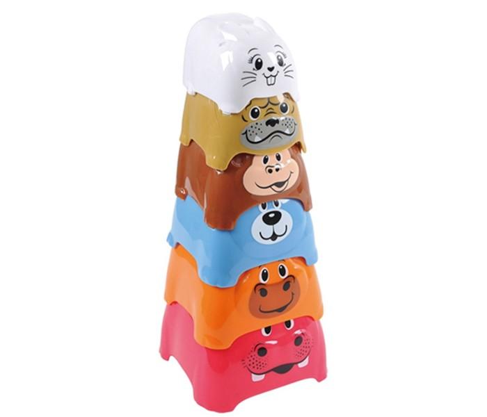 Развивающие игрушки Playgo Активный игровой центр Пирамида c животными ролевые игры playgo игровой набор бытовой техники с тостером