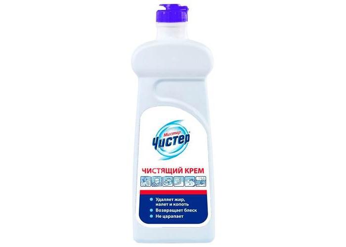 Бытовая химия Мистер Чистер Крем для чистки кафеля и нержавеющих поверхностей 500 мл бытовая химия мистер чистер средство для мытья стекол и зеркал цитрус 500 мл