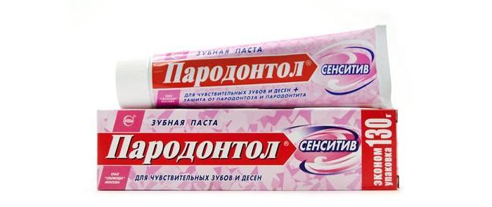 Гигиена полости рта Пародонтол Зубная паста Сенситив 63 г