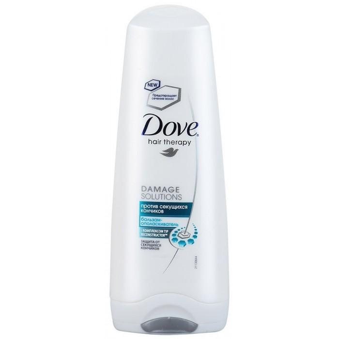 Косметика для мамы Dove Бальзам-ополаскиватель Hair Therapy Против секущихся кончиков 200 мл