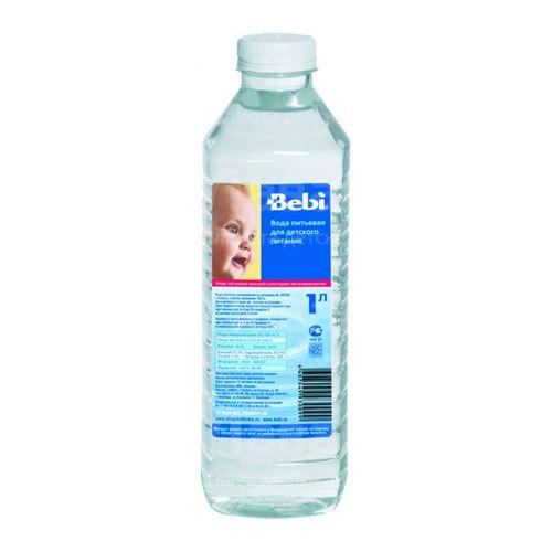Вода Bebi Вода детская питьевая с 0 мес., 1 л вода nestle вода pure life 2 л