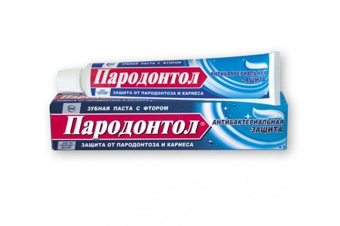 зубная паста пародонтол антибактериальная защита 124 г Гигиена полости рта Пародонтол Зубная паста Защита от бактерий 63 г