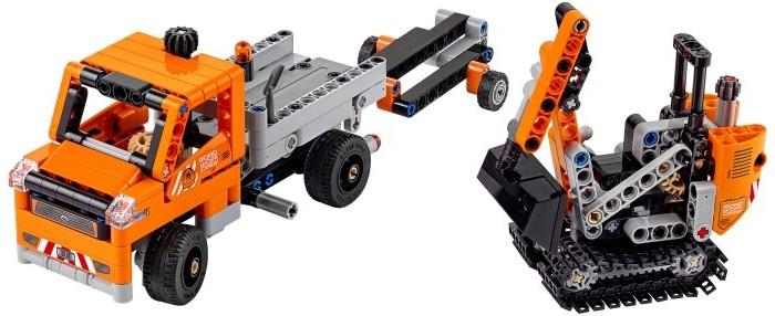 Lego Lego Technic Дорожная техника 8293 конструктор lego technic мотор power functions 10 элементов 8293