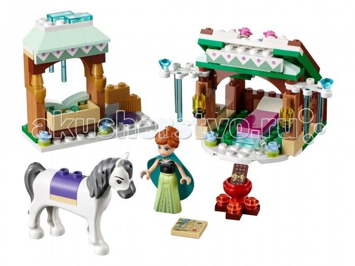 Lego Lego Disney Princesses Зимние приключения Анны конструктор lego disney princesses экзотический дворец жасмин 41061