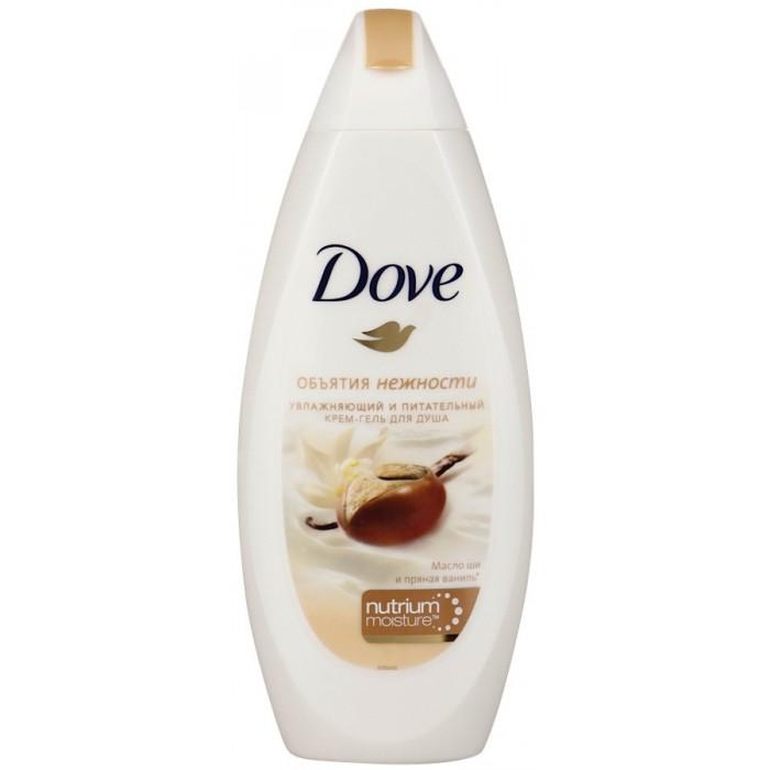 Косметика для мамы Dove Крем-гель для душа Масло Ши и ваниль 250 мл dove жидкое крем мыло прикосновение свежести 250 мл