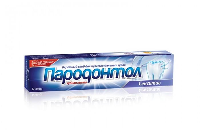 Гигиена полости рта Пародонтол Зубная паста Сенситив 124 г biomed зубная паста sensitive сенситив 100 г