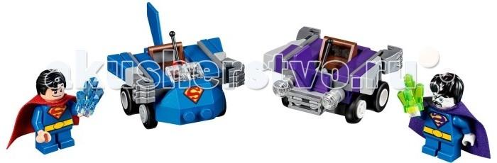Lego Lego Super Heroes Mighty Micro Супермен против Бизарро lego lego super heroes mighty micro бэтмен против мотылька убийцы