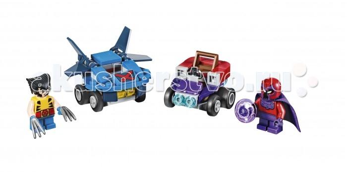 Lego Lego Super Heroes Mighty Micro Росомаха против Магнето конструктор lego marvel super heroes реактивный самолёт мстителей 76049