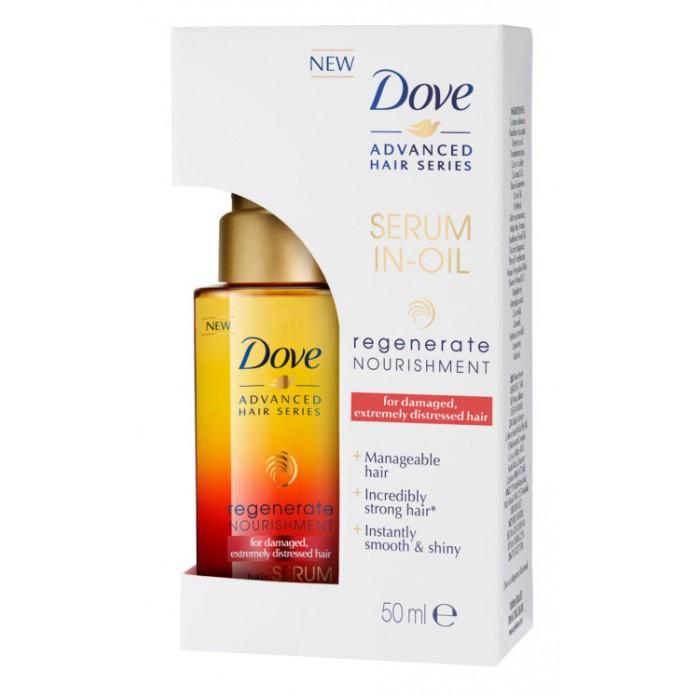Косметика для мамы Dove Масло-сыворотка для волос Advanced Hair Series Прогрессивное восстановление 50 мл siberina масло для роста волос 50 мл