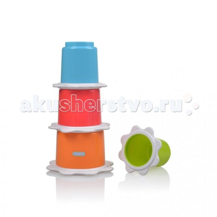 Развивающие игрушки Kidsme Пирамида Стаканчики