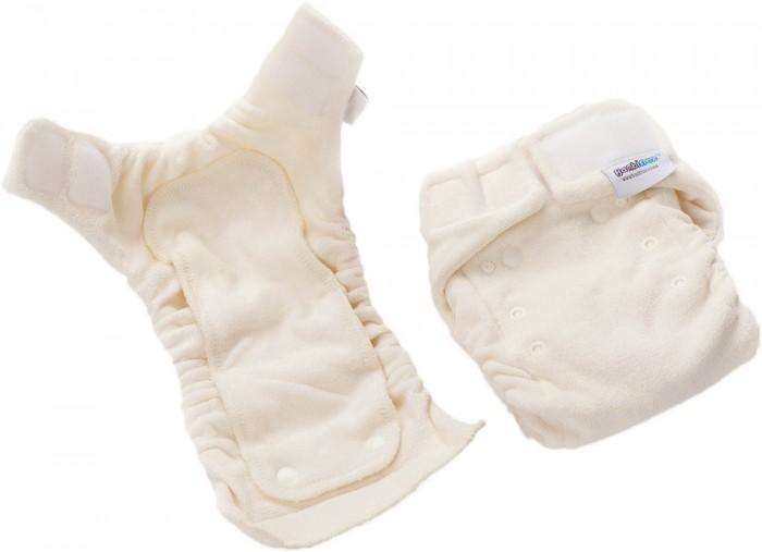 Гигиена и здоровье , Многоразовые подгузники и трусики Bambinex Многоразовый тканевый подгузник + вкладыш на кнопках 2 шт. арт: 275536 -  Многоразовые подгузники и трусики