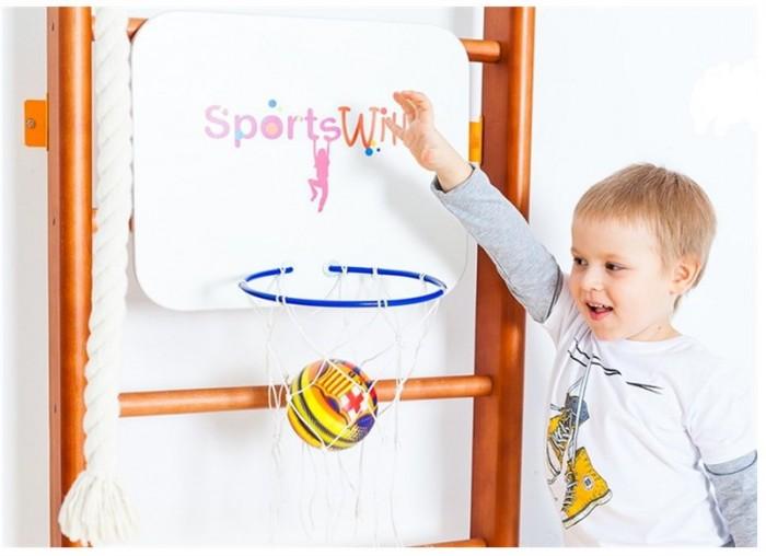 Спортивные комплексы SportsWill Кольцо баскетбольное со щитом для Спортивного комплекса Baby Hit