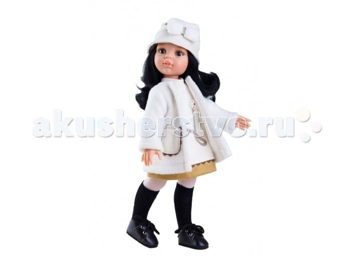 Paola Reina Кукла Карина 32 см 04404Кукла Карина 32 см 04404Paola Reina Кукла Карина 32 см  - это та игрушка, о которой мечтает каждая девочка. Продуманный до мелочей образ куклы не оставит вашу маленькую принцессу равнодушной.  Добрый, слегка наивный детский взгляд и легкий румянец на щечках, курносый носик и аккуратные губки – Карина завораживает.Все детали одежды и аксессуары можно снимать. У Карина густые волосы, которые не запутываются, и ваша дочурка с легкостью может расчесывать куклу, мыть ей голову, при этом волосы совсем не портятся и не выпадают так, как они прошиты прочно и надежно.  Куклы Paola Reina имеют высокие показатели качества своей продукции с соблюдением всех норм по безопасности материалов. Все куклы и пупсы сделаны из высококачественного винила без эфирных соединений. Это подтверждено нормами безопасности EN17 ЕЭС.  Особенности: кукла имеет нежный ванильный аромат уникальный и неповторимый дизайн лица и тела ручная работа: ресницы, веснушки, щечки, губы, прическа  волосы легко расчесываются и блестят глазки не закрываются ручки, ножки и голова поворачиваются<br>