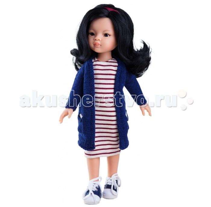 Куклы и одежда для кукол Paola Reina Кукла Лиу 32 см 04443 кукла пупс без одежды девочка европейка 22см paola reina