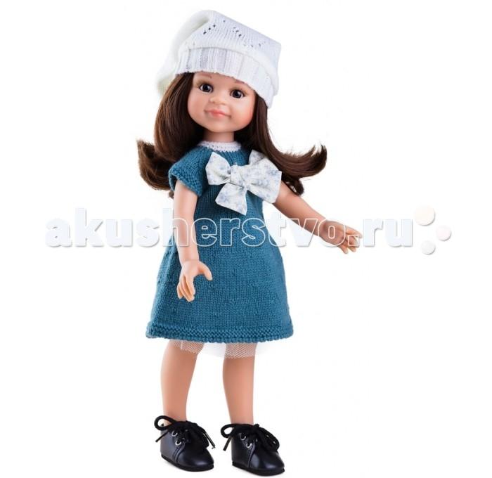 Paola Reina Кукла Клео 32 см 04444Кукла Клео 32 см 04444Paola Reina Кукла Клео 32 см - это та игрушка, о которой мечтает каждая девочка. Продуманный до мелочей образ куклы не оставит вашу маленькую принцессу равнодушной.  Добрый, слегка наивный детский взгляд и легкий румянец на щечках, курносый носик и аккуратные губки – Клео  завораживает. Все детали одежды и аксессуары можно снимать. У Клео густые волосы, которые не запутываются, и ваша дочурка с легкостью может расчесывать куклу, мыть ей голову, при этом волосы совсем не портятся и не выпадают так, как они прошиты прочно и надежно.  Куклы Paola Reina имеют высокие показатели качества своей продукции с соблюдением всех норм по безопасности материалов. Все куклы и пупсы сделаны из высококачественного винила без эфирных соединений. Это подтверждено нормами безопасности EN17 ЕЭС.  Особенности: кукла имеет нежный ванильный аромат уникальный и неповторимый дизайн лица и тела ручная работа: ресницы, веснушки, щечки, губы, прическа  волосы легко расчесываются и блестят глазки не закрываются ручки, ножки и голова поворачиваются<br>