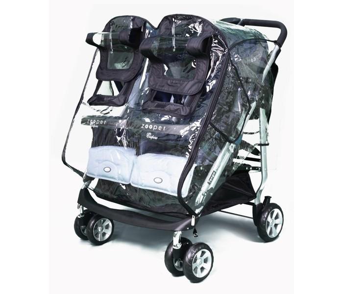 Дождевик Esspero Cabinet Duette для коляски двойниCabinet Duette для коляски двойниДождевик для коляски двойни, универсальный для любого типа колясок, от люльки до прогулки.   Боковые клапана обеспечивают отличную вентиляцию и предотвращают запотевание. Силикон обеспечивает прозрачность для обзора малыша.   Возможность использовать зимой до -25° С  Мягкий морозостойкий материал Два независимых окна на молнии и липучке Боковые воздухозаборники препятствуют запотеванию и сбору конденсата Центральная дверь для высадки и посадки малышей не снимая дождевик Крепления на раму надежно фиксируют дождевик в встроенную погоду.<br>