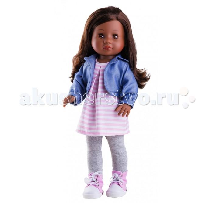 Paola Reina Кукла Амор 42 см 06011Кукла Амор 42 см 06011Paola Reina Кукла Амор 42 см - это та игрушка, о которой мечтает каждая девочка. Продуманный до мелочей образ куклы не оставит вашу маленькую принцессу равнодушной.  Добрый, слегка наивный детский взгляд и легкий румянец на щечках, курносый носик и аккуратные губки – Амор завораживает. Все детали одежды и аксессуары можно снимать. У Амор густые волосы, которые не запутываются, и ваша дочурка с легкостью может расчесывать куклу, мыть ей голову, при этом волосы совсем не портятся и не выпадают так, как они прошиты прочно и надежно.  Куклы Paola Reina имеют высокие показатели качества своей продукции с соблюдением всех норм по безопасности материалов. Все куклы и пупсы сделаны из высококачественного винила без эфирных соединений. Это подтверждено нормами безопасности EN17 ЕЭС.  Особенности: кукла имеет нежный ванильный аромат уникальный и неповторимый дизайн лица и тела ручная работа: ресницы, веснушки, щечки, губы, прическа  волосы легко расчесываются и блестят глазки закрываются ручки, ножки и голова поворачиваются куклу можно купать<br>