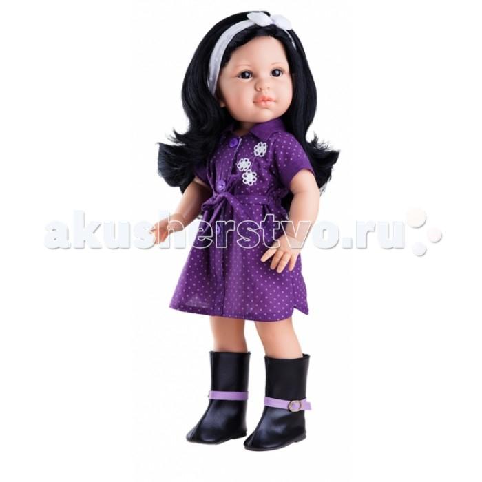Куклы и одежда для кукол Paola Reina Кукла Лина 42 см 06012 куклы и одежда для кукол весна озвученная кукла саша 1 42 см