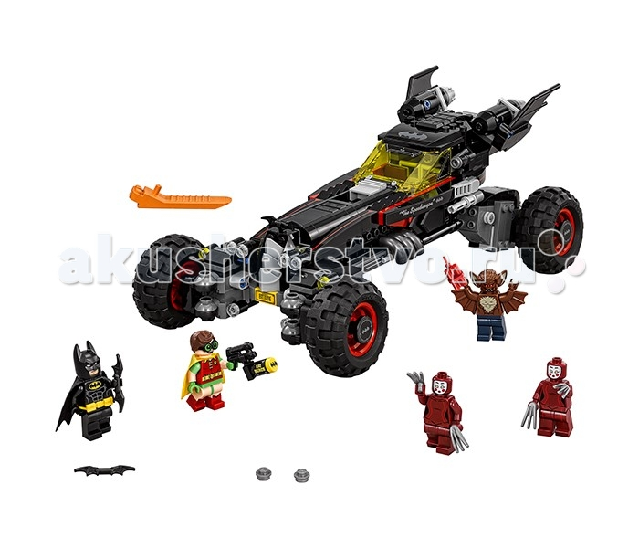 Lego Lego Batman Movie 70905 Бэтмобиль 2017 lepin 07045 batman movie batmobile features robin man bat kabuki building block toys compatible with legoe batman 70905