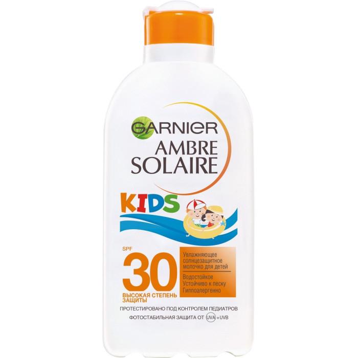 Солнцезащитные средства Garnier Ambre Solaire Молочко солнцезащитное SPF30 детское 200 мл