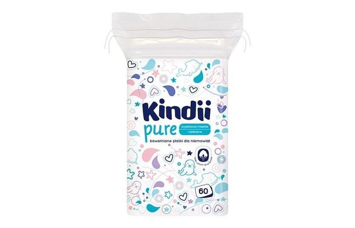 Гигиена для мамы Cleanic Ватные диски детские 60 шт.
