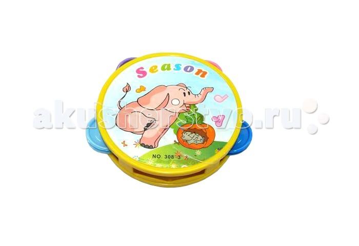 Музыкальные игрушки Veld CO Бубен 39974 машинки veld co паровоз музыкальный