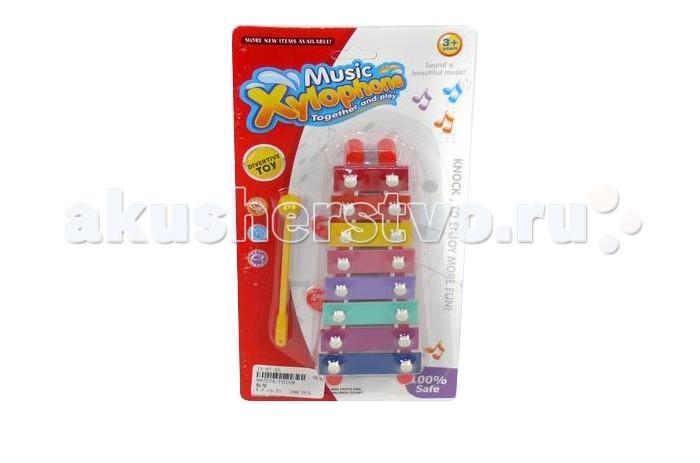 Музыкальные игрушки Veld CO Металлофон 32556 фигурки игрушки veld co игрушка музыкальная лев