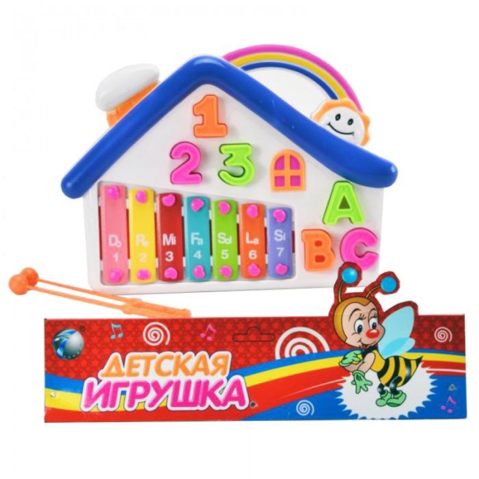 Музыкальные игрушки Veld CO Металлофон Домик