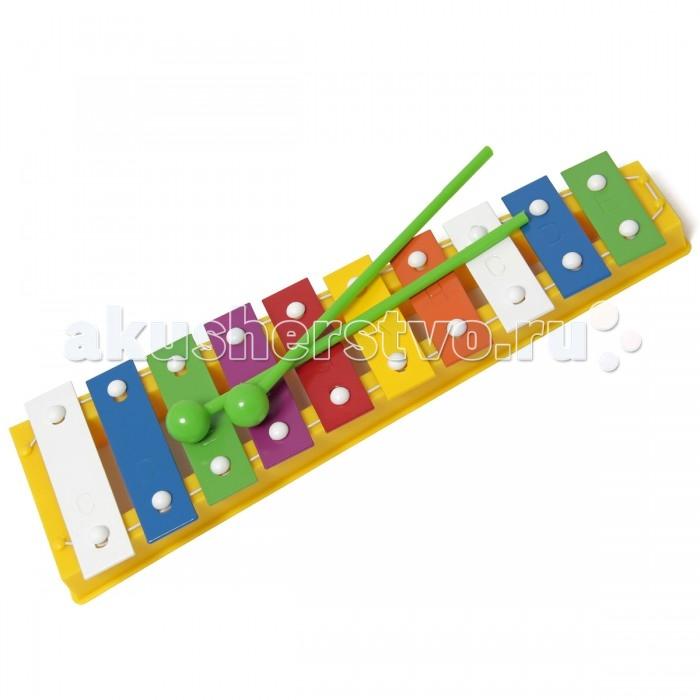 Музыкальные игрушки Veld CO Металлофон Marek 10 тонов фигурки игрушки veld co игрушка музыкальная лев