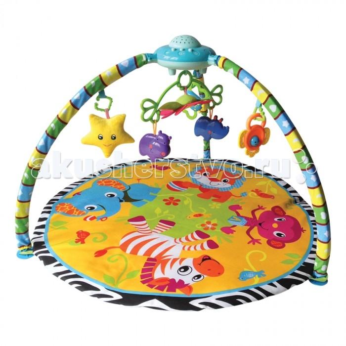 Развивающие коврики Bertoni (Lorelli) Проектор коврик домашний sunstep цвет кремовый 120 х 170 х 4 см