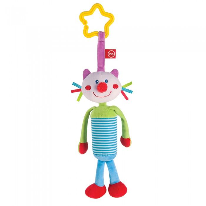 Подвесные игрушки Happy Baby Игрушка-колокольчик Perky Kitty погремушки стеллар колокольчик