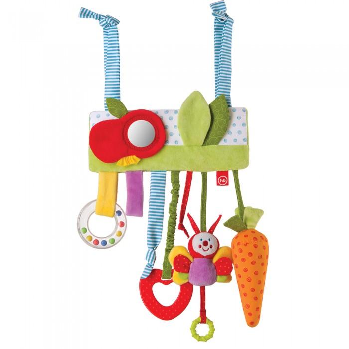 Подвесные игрушки Happy Baby Jolly Garden погремушка подвеска шарики
