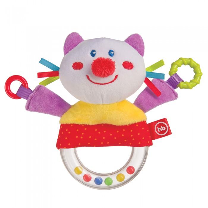 Погремушка Happy Baby пищалка Funny Kitty