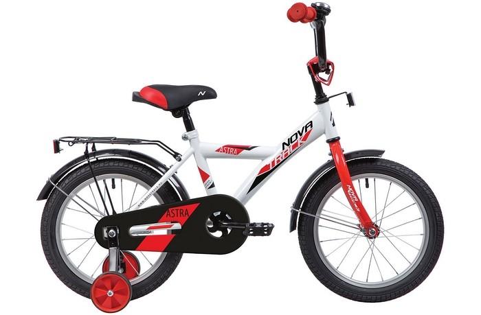 Велосипед двухколесный Novatrack Astra 12Astra 12Велосипед двухколесный Novatrack Astra 12 - отличный вариант для ребенка старше двух лет, чтобы начать осваивать этот вид транспорта с пользой для здоровья. Модель имеет стильный дизайн, безупречную сборку и отличную функциональность.  Велосипед собран на базе рамы с универсальной геометрией, которая позволяет легко взобраться или слезть с велосипеда маленькому наезднику, при этом велосипед имеет такой вес, что маленький ребенок сам легко справляется со своим транспортным средством. Данная модель маневренна и легко управляется, поэтому ребенку будет несложно и интересно учиться езде.  Особенности: стальная рама мягкое сиденье и руль регулируются по высоте дополнительные аксессуары: багажник, звоночек ножной задний тормоз съемные дополнительные колеса защита цепи от попадания нижней части одежды в механизм Для безопасности велосипед оснащен ограничителем поворота, который не позволяет рулю повернуться на очень большой градус и тем самым предотвращает падение.   Диаметр колес: 12<br>