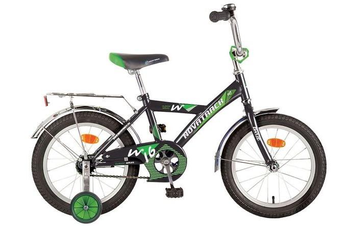 Велосипед двухколесный Novatrack Twist 14Twist 14Велосипед двухколесный Novatrack Twist 14 предназначен для малышей 3-5 лет. Данная модель маневренна и легко управляется, поэтому ребенку будет несложно и интересно учиться езде.  Особенности: сиденье мягкое, выполняет роль амортизатора при езде по неровной дороге на цепи есть защитный металлический щиток оборудован системой ограничения поворота руля тормоз ножной на руле закреплен небольшой металлический звоночек укомплектован багажником с зажимом катафоты дополнительные страховочные колеса Диаметр колес: 14<br>