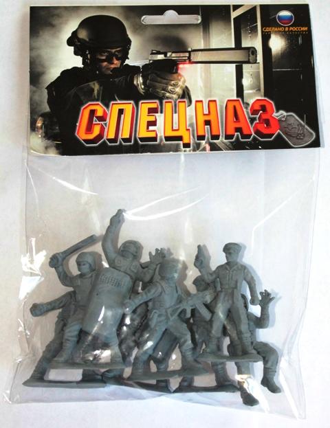 Игровые фигурки Биплант Солдатики Российский спецназ