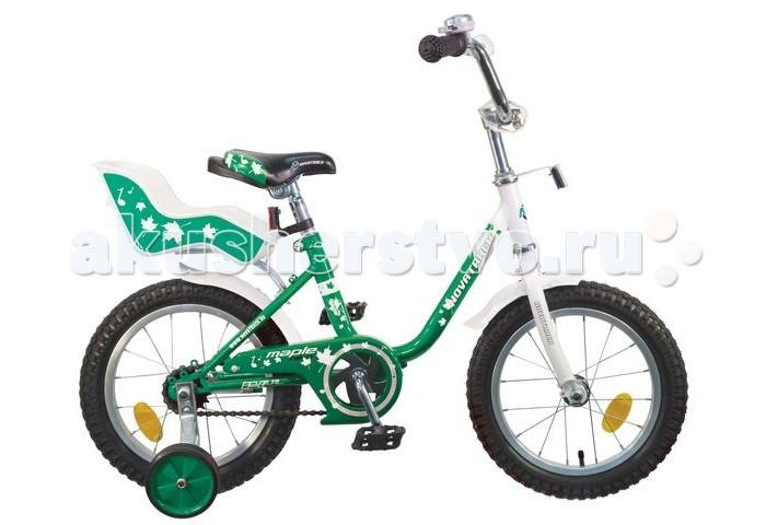 Велосипед двухколесный Novatrack Ul 14Ul 14Велосипед двухколесный Novatrack Ul 14 - это надежный велосипед для девочек 3-5 лет, на котором очень легко будет освоить азы катания на велосипеде, и который обязательно станет предметом гордости маленькой леди.   Особенности: регулируемые сидение и руль  маленькие дополнительные колеса, которые снимаются сидение для куклы ножной тормоз защита цепи красивый и блестящий звоночек Диаметр колес: 14<br>