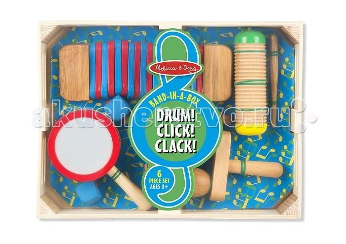 Погремушки Melissa & Doug Первые игрушки Музыкальный набор 8962, Погремушки - артикул:277744