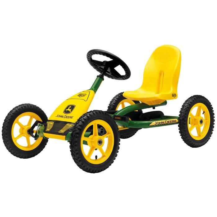 Педальные машины Berg Веломобиль Buddy John Deere трактор tomy john deere зеленый 19 см с большими колесами звук свет