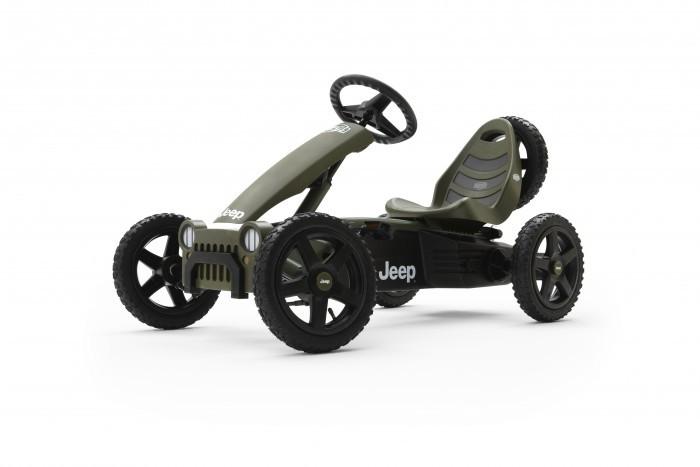 Детский транспорт , Педальные машины Berg Веломобиль Jeep Adventure арт: 278044 -  Педальные машины
