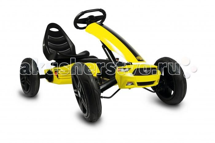 Детский транспорт , Педальные машины Berg Веломобиль Ford Mustang арт: 278053 -  Педальные машины