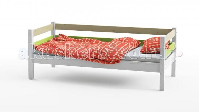 Детские кроватки Grifon Style Wood Fantasy 1 ярус 160х80 см