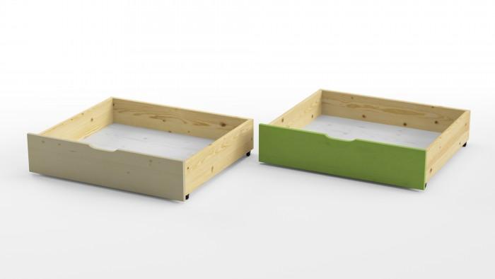 Grifon Style Для кровати Wood Fantasy Комплект ящиков 2 шт.Для кровати Wood Fantasy Комплект ящиков 2 шт.Grifon Style Для кровати Wood Fantasy Комплект ящиков 2 шт.  Для всех моделей кровати линейки Wood Fantasy  Материал: сосна Цвета: белый, лайм<br>