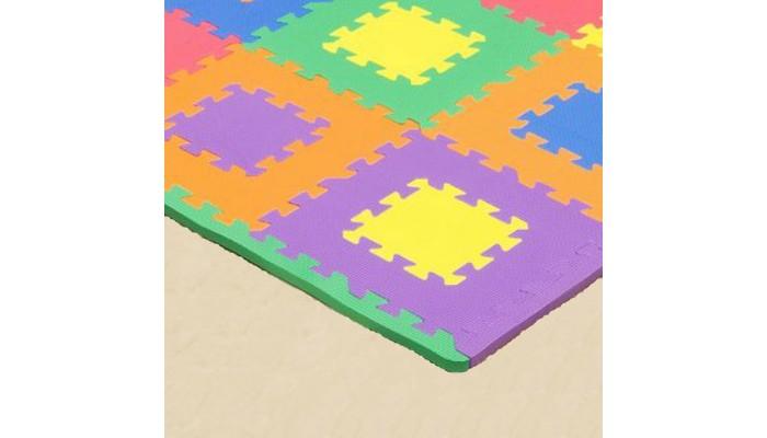 Игровые коврики FunKids Бордюр угловой 12 для ковриков - пазлов 4 шт. игровые коврики funkids бордюр обычный 12 для ковриков пазлов
