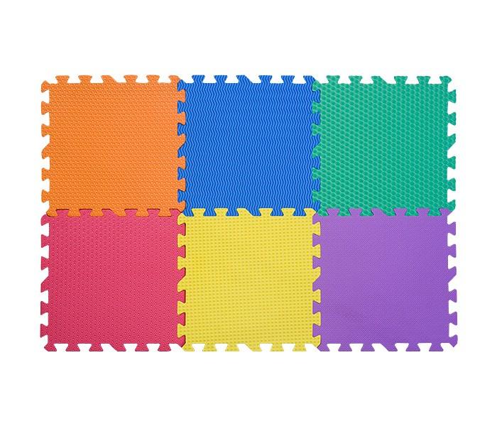 Игровые коврики FunKids пазл Сенс-12 без изображений рельефная текстура игровые коврики funkids бордюр обычный 12 для ковриков пазлов 4 шт