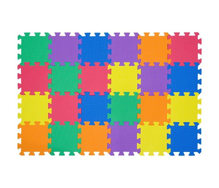 Игровые коврики FunKids пазл Симпл-6 без изображений игровые коврики funkids пазл сенс 12 без изображений рельефная текстура