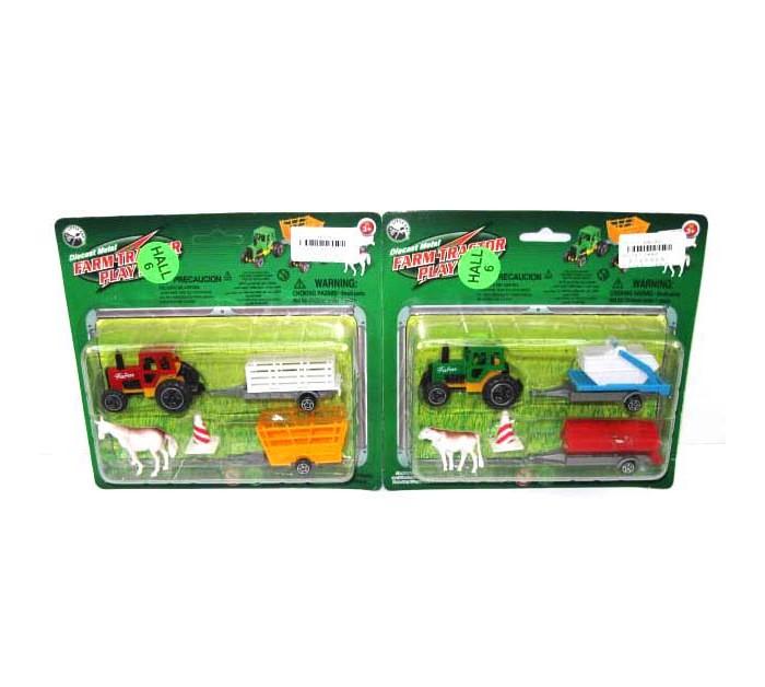 Фото - Машины Veld CO Трактор с аксессуарами игровые фигурки veld co лошадь с аксессуарами в коробке 39954