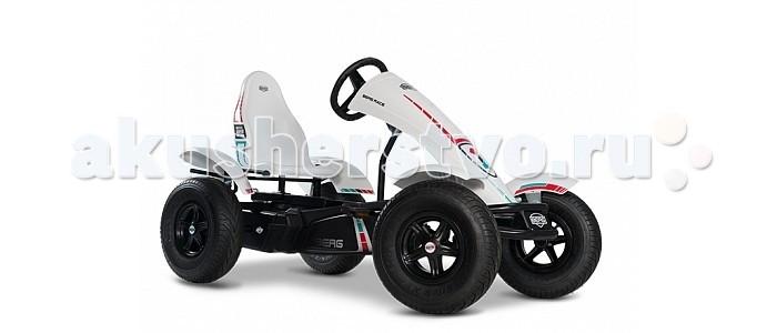 Berg Веломобиль Race BFRВеломобиль Race BFRBerg Веломобиль Race BFR позволит свободно катиться вперед, вращая педали, использовать так называемый холостой ход, а также после остановки легко ехать задним ходом. Переключать какие бы то ни было рычаги и передачи при этом совершенно не требуется - все происходит автоматически, как будто само собой. А вот грамотно управлять машинкой, конечно, надо научиться. Тем более, что это не сложно, а игровой опыт потом может очень пригодиться, когда ребенок вырастет и пересядет на настоящий автомобиль.  Особенности: 2 коробки рама 07.50.00.00 + тематика 07.55.00.11 5-12 лет рама XL регулируемый руль и сиденье возможен тормоз педалями max вес пользователя 100 кг рекомендован для коммерческого использования.<br>