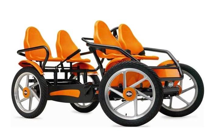 Детский транспорт , Педальные машины Berg Веломобиль GranTour F Race 4-seater арт: 278746 -  Педальные машины
